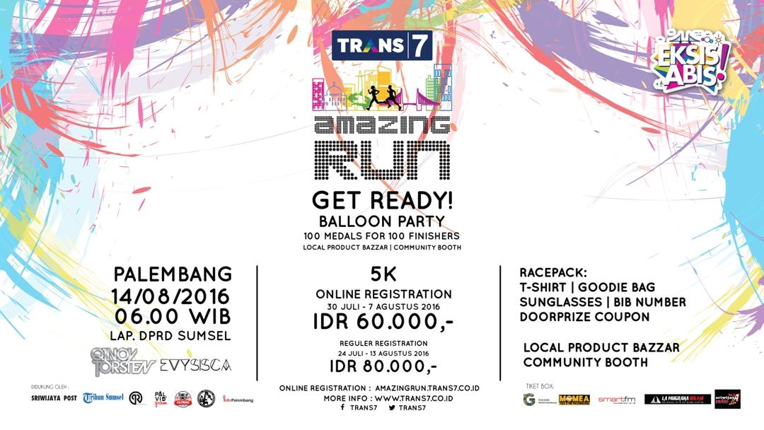 Trans7 Amazing Run - Palembang