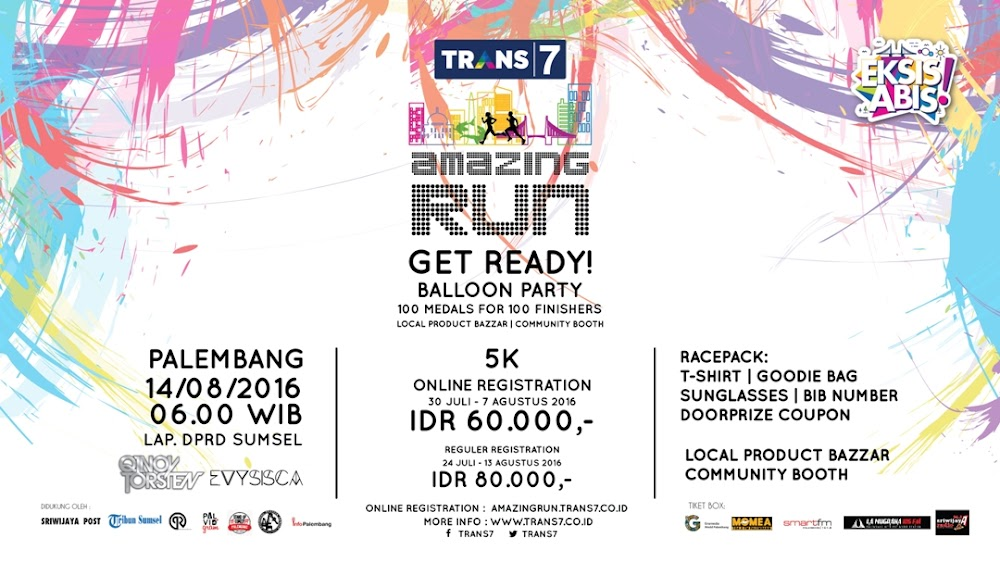 Trans7 Amazing Run - Palembang