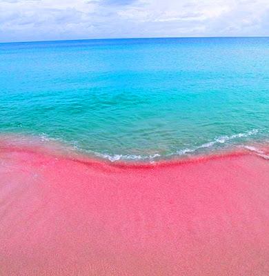 Isla Harbour - playa arena rosada