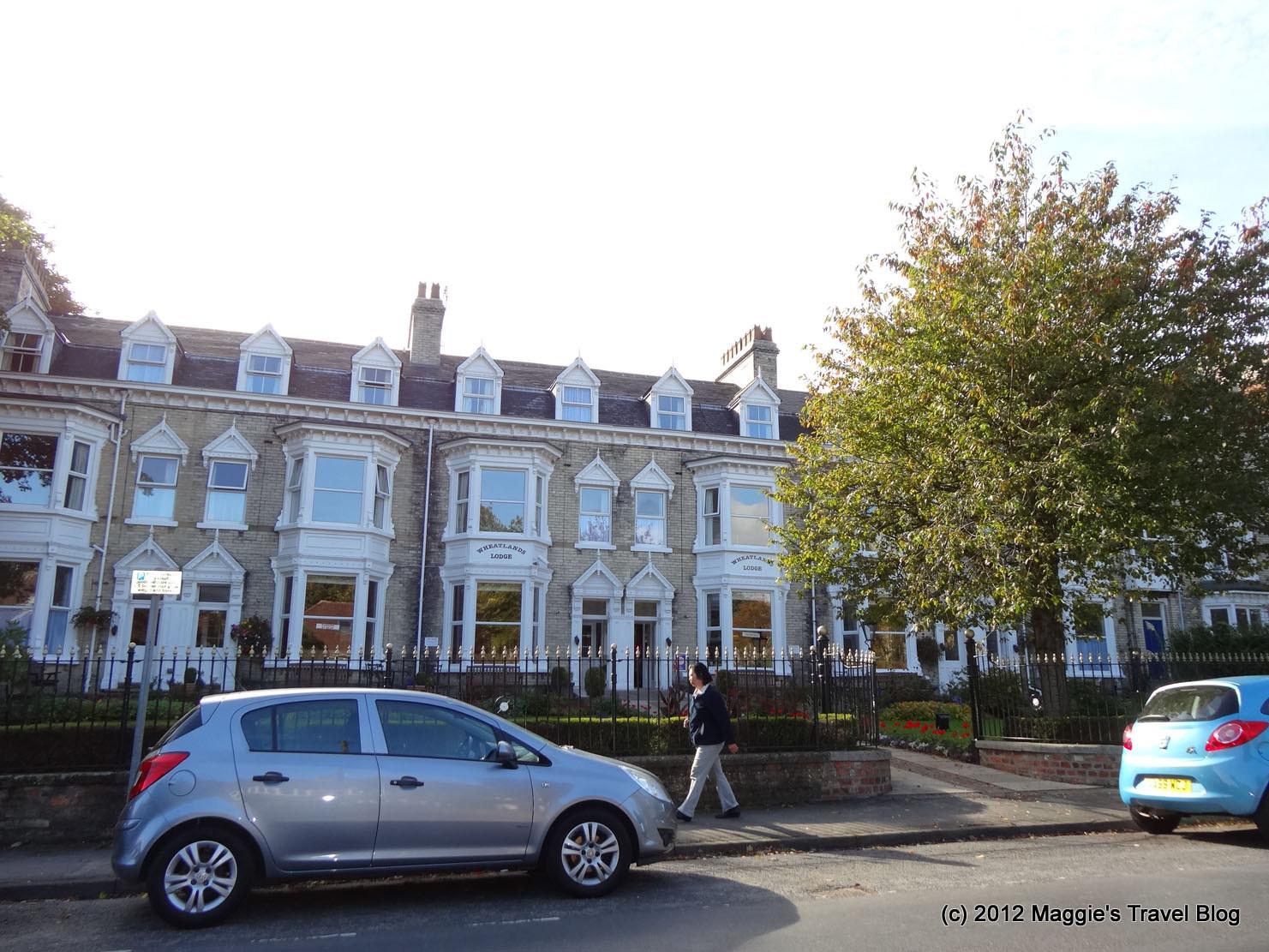 梅梅雜記: 2012 英國自由行 09:York 住宿 - Wheatlands Lodge Hotel