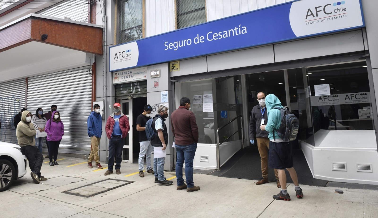 El desempleo en Chile aumentó al 8,2 % en el primer trimestre