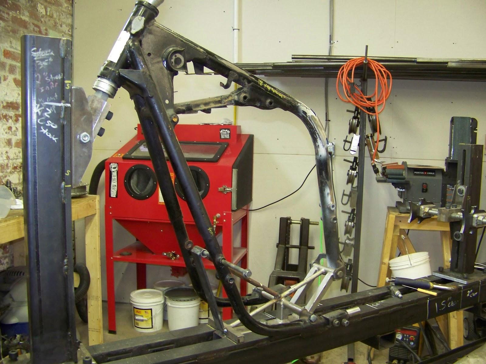 Speedster XS650 Hardtail - Hughs Hand Built