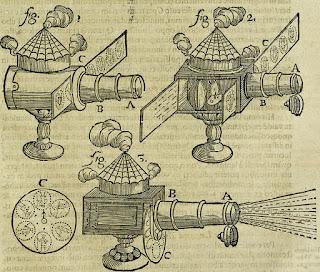 1685 Oculus Artificialis Teledioptricus Sive Telescopium Magic Latern