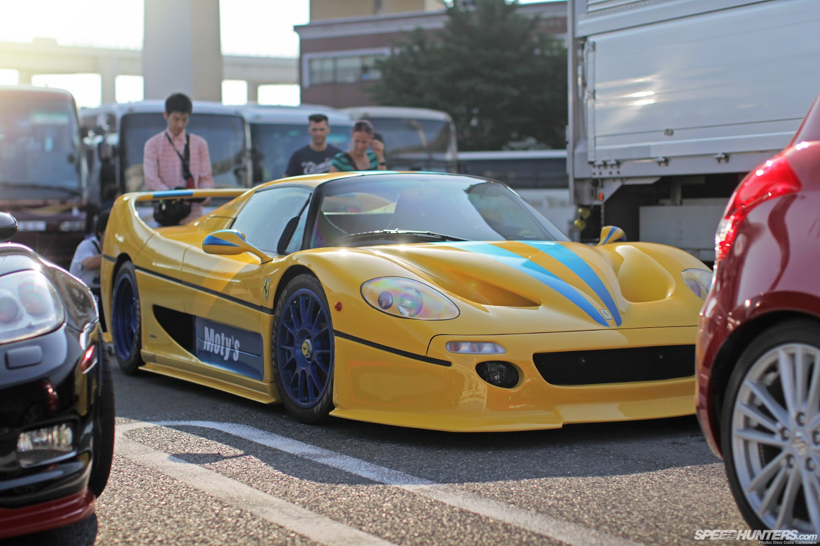 Photo: Ferrari F50 with Body Kit