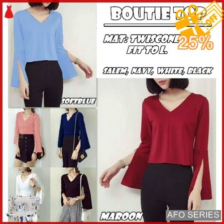 AFO257 Model Fashion Boutie Top Modis Murah BMGShop