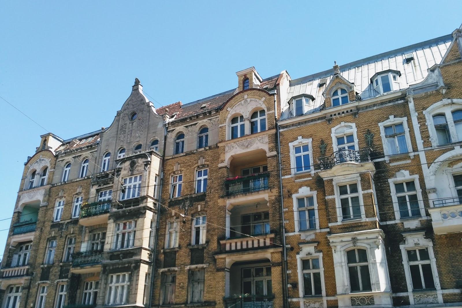 kamienice na Łazarzu Poznań
