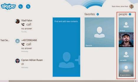 Tạo cuộc gọi nhóm audio và video trong Skype trên Windows 8.1