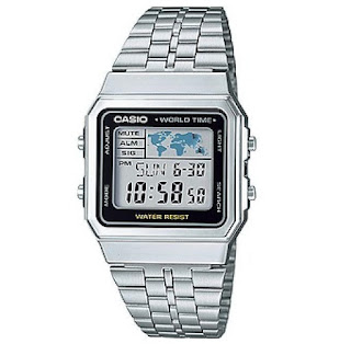 Casio Metal Basic A500Wa-1Df Gents - Silver