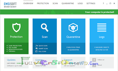 Emsisoft Internet Security 11.5.1.6247 Latest Full Version
