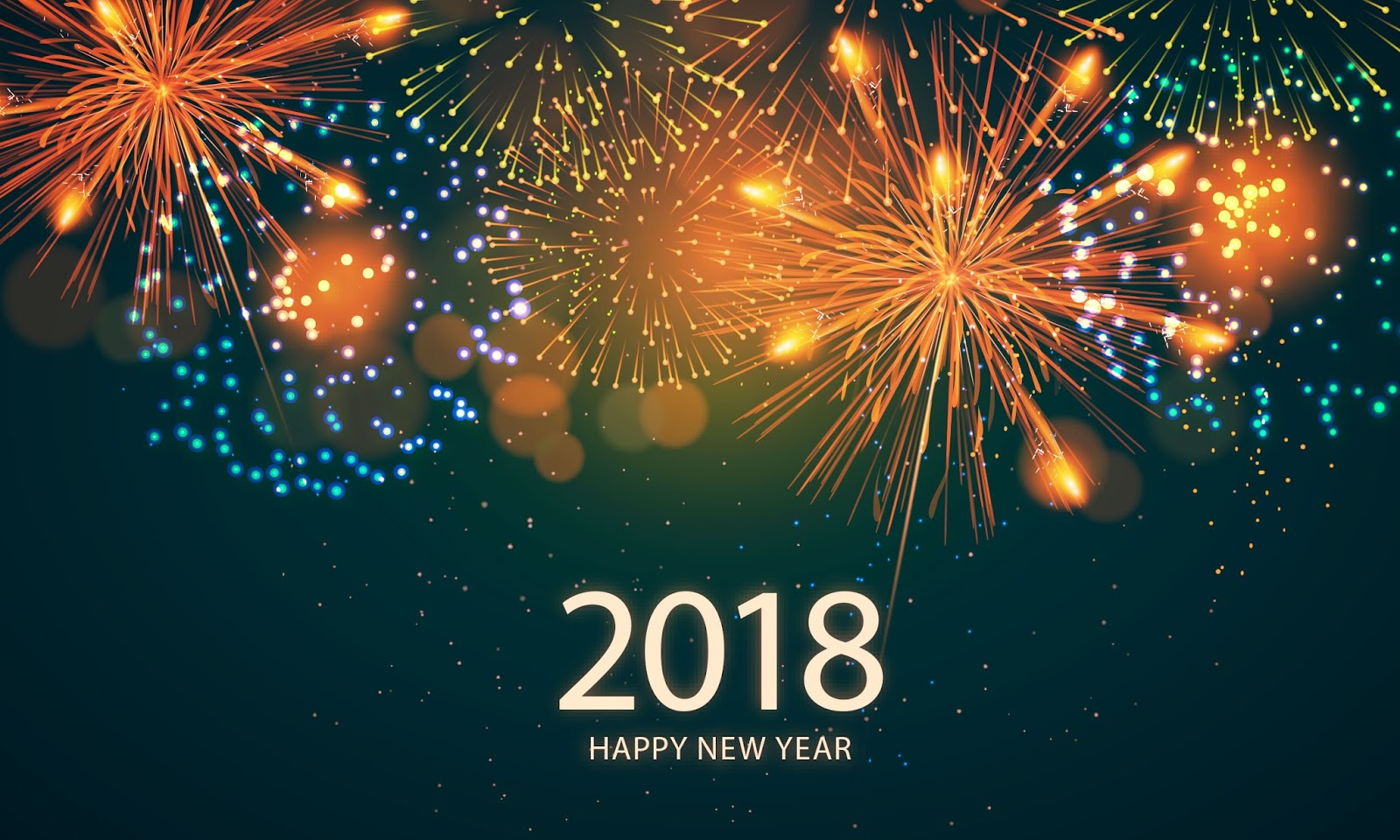 happy new year hd wallpapers 2018