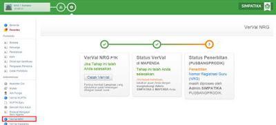 Verval NRG Diproses Pusbangprodik