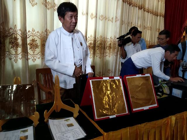 ဝင္းနႏၵာ ၊ လြမ္းေဒါင္ (Myanmar Now) ● ေရႊတိဂံုေရႊျပား ညဳိမည္းသြားျခင္းအေၾကာင္း လုပ္ငန္းရွင္ ခုခံေျပာၾကား
