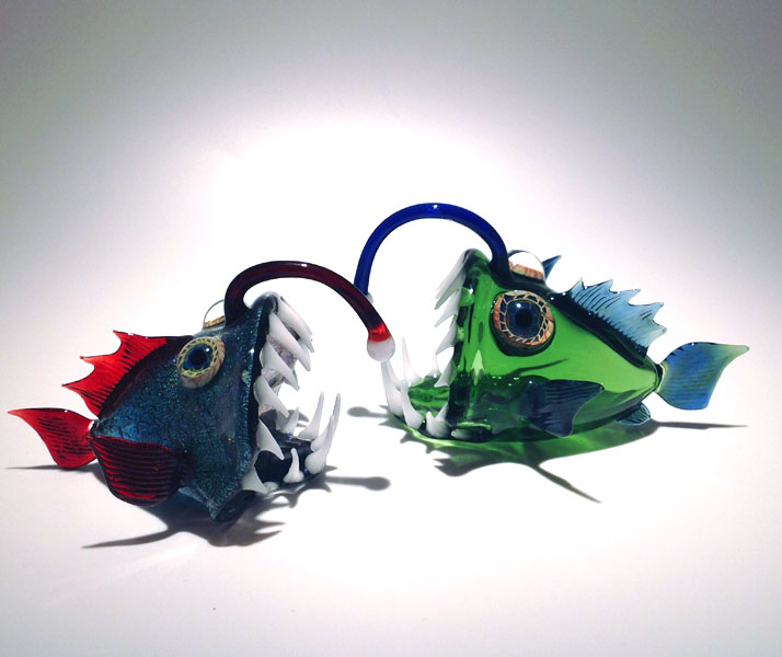 01-Angler-Fish-Scott-Bisson-Glass-Sea-and-Land-Animals-www-designstack-co