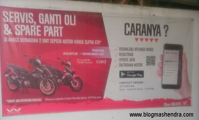 Bengkel Honda AHASS Cireundeu - Blog Mas Hendra