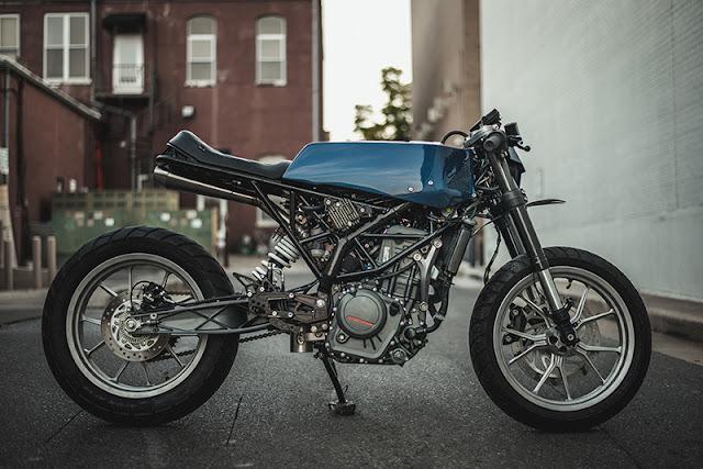 Angular by One Up Moto Garage - KTM RC390