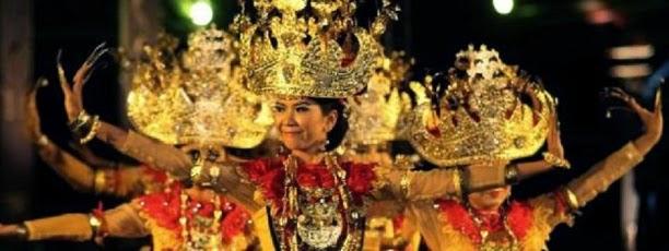 Gambar bukti sejarah budaya tari canggett khas Lampung
