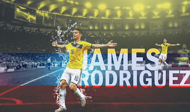 James Rodriguez Colombia 2015 Wallpaper