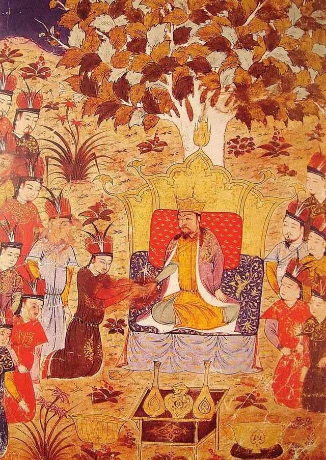 Coronation of Ogotai Khan