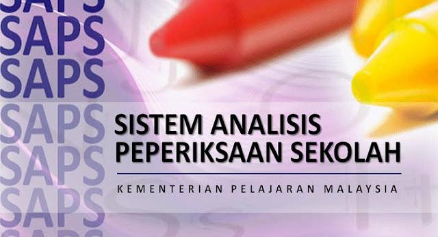 SAPS - Sistem Analisis Peperiksaan Sekolah