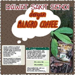 testimoni Milagro Coffee Patawali