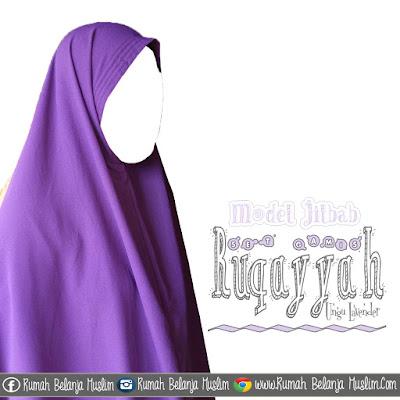 Model Jilbab Gamis Ruqoyya Lavender