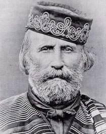 Italian hero Giuseppe Garibaldi