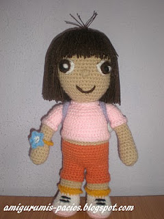 http://patronesamigurumis.blogspot.com.es/2013/01/patron-dora-exploradora.html