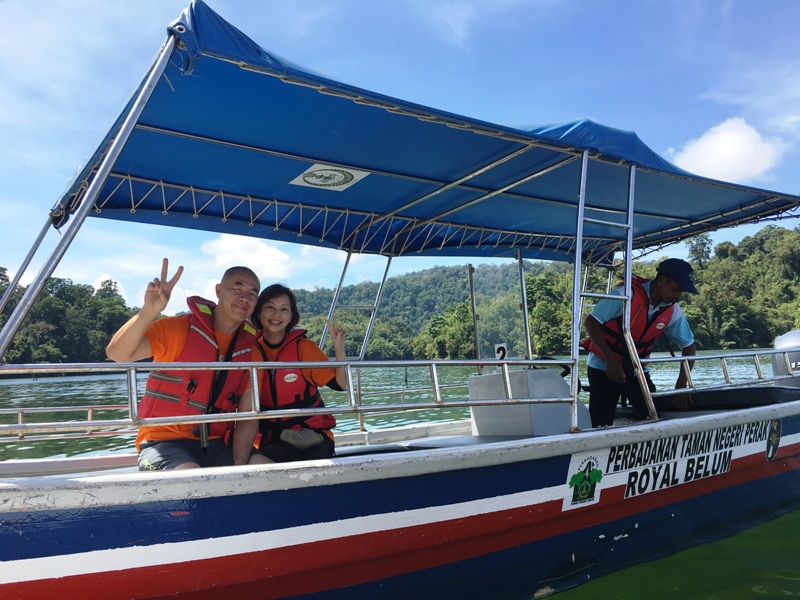royal belum state park luxury boat tour