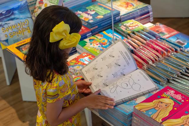 Feira do Livro Infantil reúne títulos a partir de R$ 3,00 no Plaza Shopping
