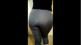 wife big ass leggings