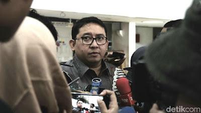 Tolak Pasal Penghinaan Presiden, Fadli: Bisa Balik ke Zaman Otoriter - Info Presiden Jokowi Dan Pemerintah