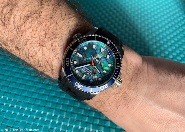 Deep Blue Diver 1000 abalone