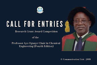 2019 Professor Ogunye Research Grant Award Competition [₦1.5M Grant]