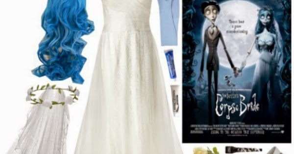 """Corpse Bride Wedding Gown: COSTUME: Emily From """"Corpse Bride"""""""