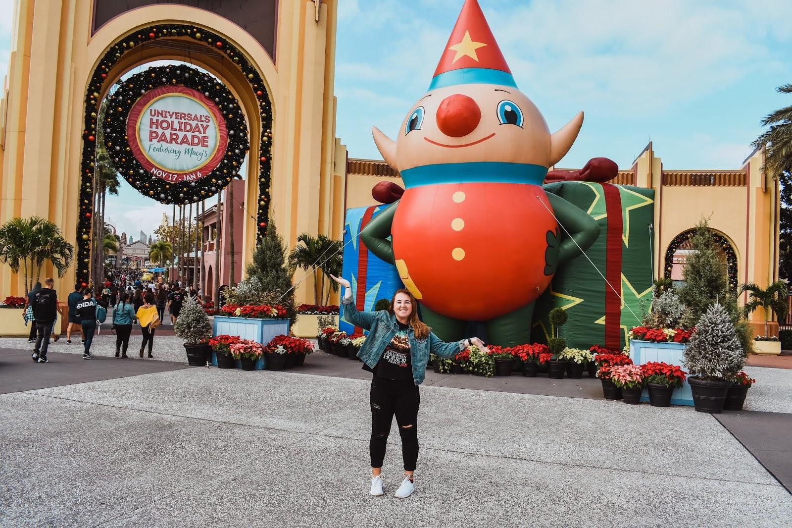 Christmas At Universal Studios Orlando.Unofficial Universal Orlando Podcast Universal Orlando
