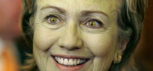 Image result for hillary SNAKE EYES