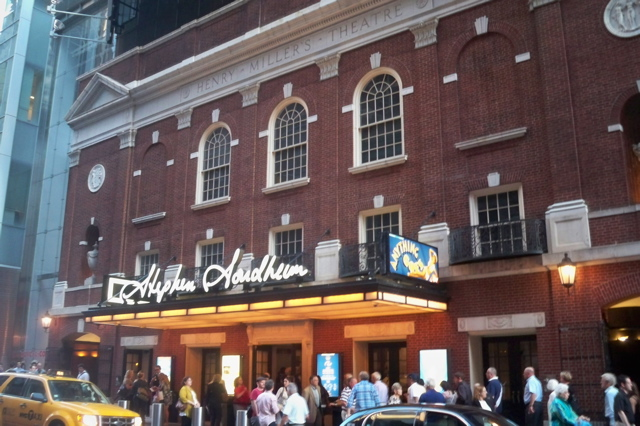 The Hopeful Traveler The Venue Stephen Sondheim Theatre Ships In The 2011 Broadway Revival Of Anything Goes