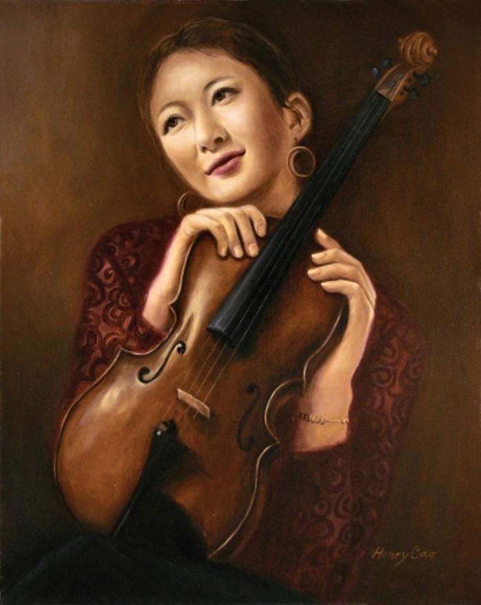 Профессиональный художник. Henry Cao