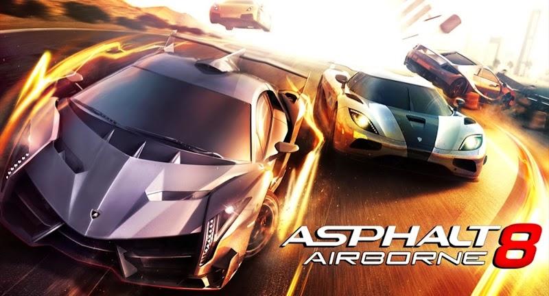 Asphalt 8 Airborne MOD APK + DATA (Unlimited All) Free Download V2.7.1a