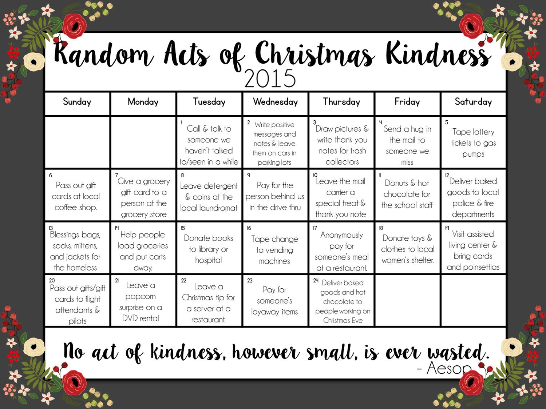80b083c65c0 Random Acts of Christmas Kindness