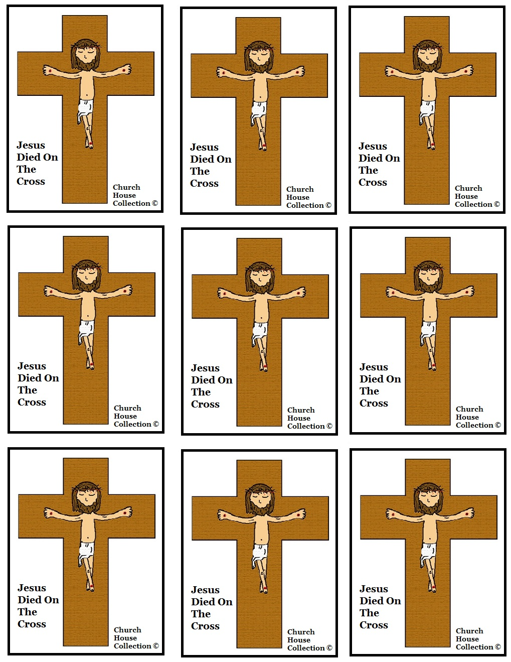 Church House Collection Blog Jesus Died On The Cross