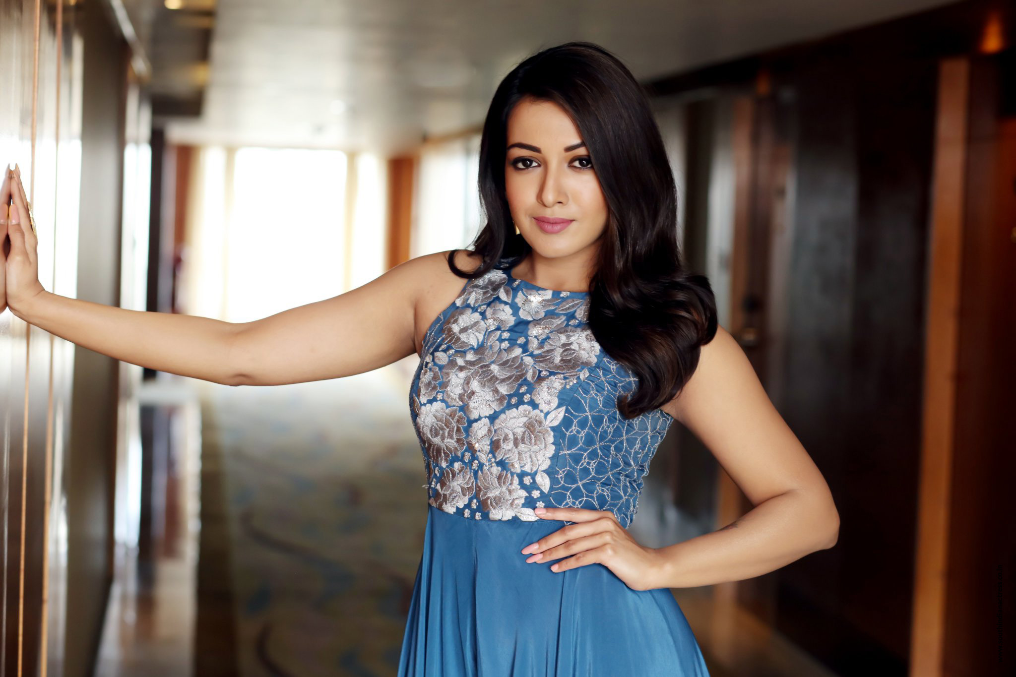 Catherine Tresa Stills At The Launch Of Production No 3 -3532