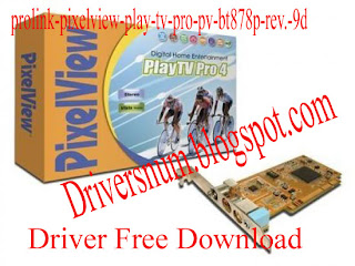 pixelview pv bt878p tv tuner driver