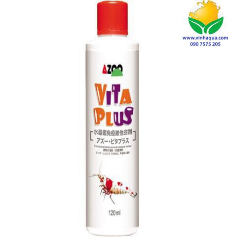 Phụ kiện thủy sinh - dinh dưỡng cho tép Azoo Vita Plus 120ml