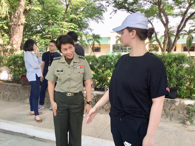 Angel Locsin On Military Training In Preparation Of Her Show 'The General's Daughter'