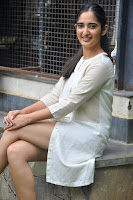 Radhika Cute Young New Actress in White Long Transparent Kurta ~  Exclusive Celebrities Galleries 057.JPG