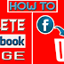 How to Delete the Facebook Page