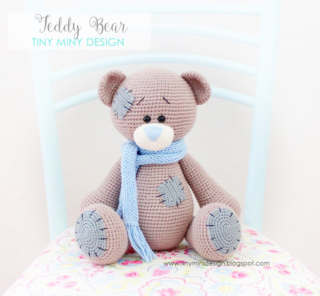 Amigurumi Yapimi Tarifi : Amigurumi Ayi Teddy-Amigurumi Teddy Bear - Tiny Mini Design