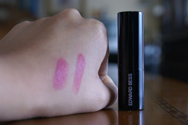 blogger reviews, lipstick, edward bess, makeupwithtea, beauty,