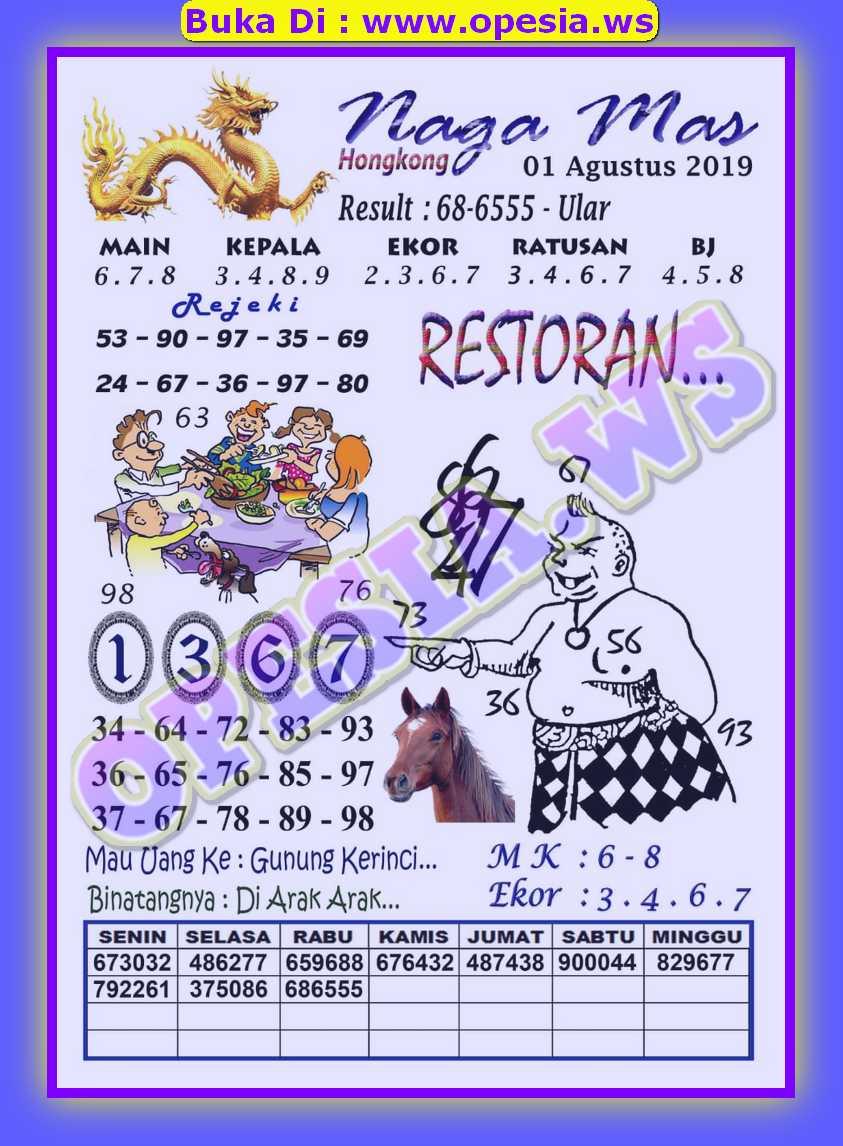 Forum Syair Hk Kamis 1 Agustus 2019 Forum Syair Togel